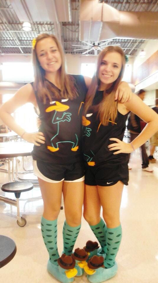 Twin day perry the platypus costume. 85 best twin day costumes  images on Pinterest   Carnivals