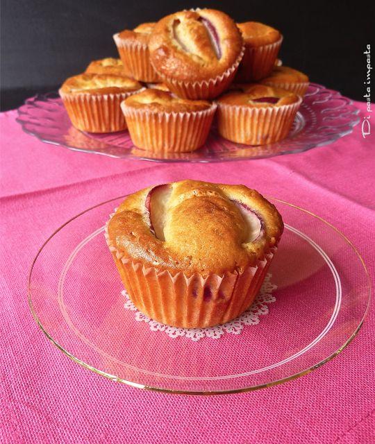 Di pasta impasta: Tortine morbide con farina di avena e pesche noci