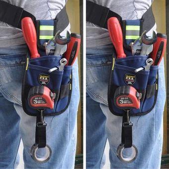 เก็บเงินปลายทาง  Professional Electrician Tool Kit 3-Pocket Utility Pouch (Blue) -intl  ราคาเพียง  269 บาท  เท่านั้น คุณสมบัติ มีดังนี้ High quality with reasonable price Material: Canvas Kit with 3-Pocket but&without thebelt