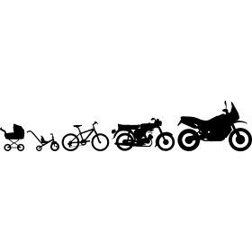 Enduro Adventure Simson Evolution - Die Evolution einer Enduro Adventure in Bilder vom Dreirad hin zum ersten Fahrrad, dann die erste Simson Suhl S50 bis zum schlu� das Motorrad folgt.