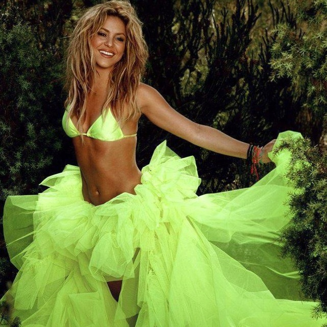 ms. loca♥Girls Crushes, Hair Colors, Nature Products, Tulle Skirts, Green, Beautiful, Shakira Shakira, The Dresses, People