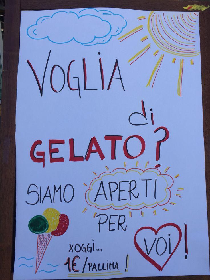 #bibione #bibionepineda  Domenica di #sole e #gelato!  Oggi solo 1 euro!