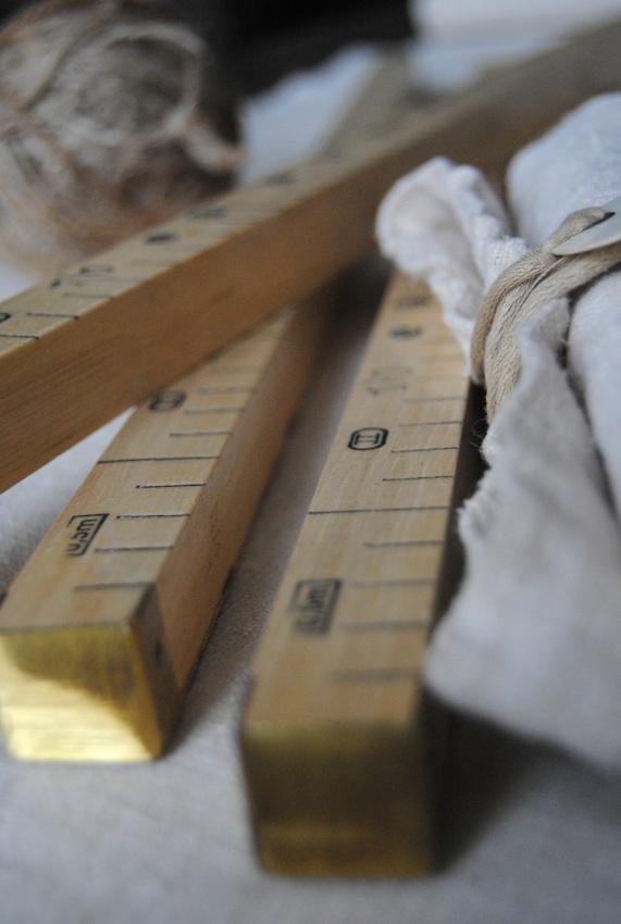 Mètres en bois