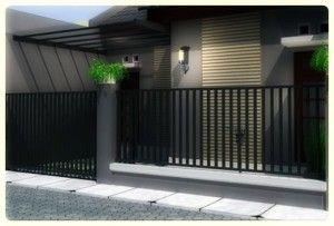 Model pagar minimalis bukan merupakan komponen utama dalam sebuah rumah , Selain sebagai pengaman , pagar juga mempercantik tampilan rumah .