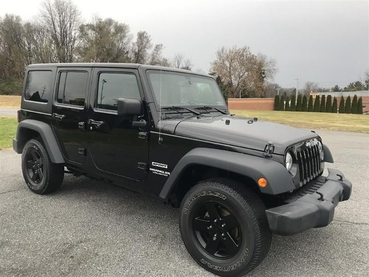2016 Jeep Wrangler Unlimited Sport 4WD For Sale in Sinking