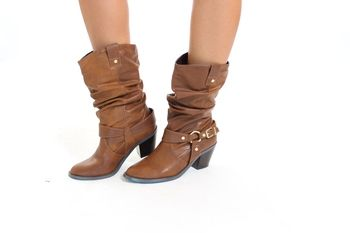 Dark Tan CowGirl boots