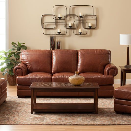 Our Leather Remington Collection Has Jeromeu0027s Gel Memory Foam In The  Cushions For An Incredibly