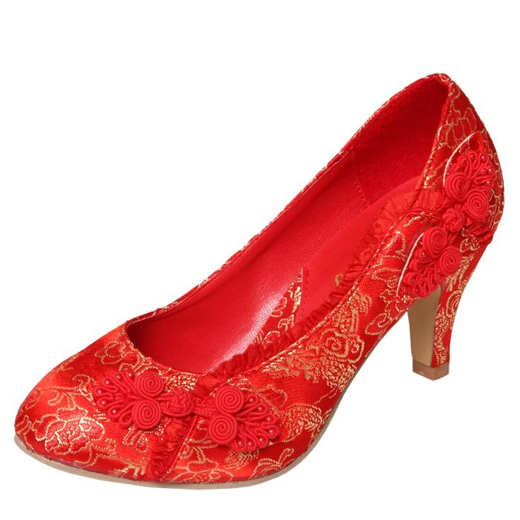 Single Heart Bride Shoe 102
