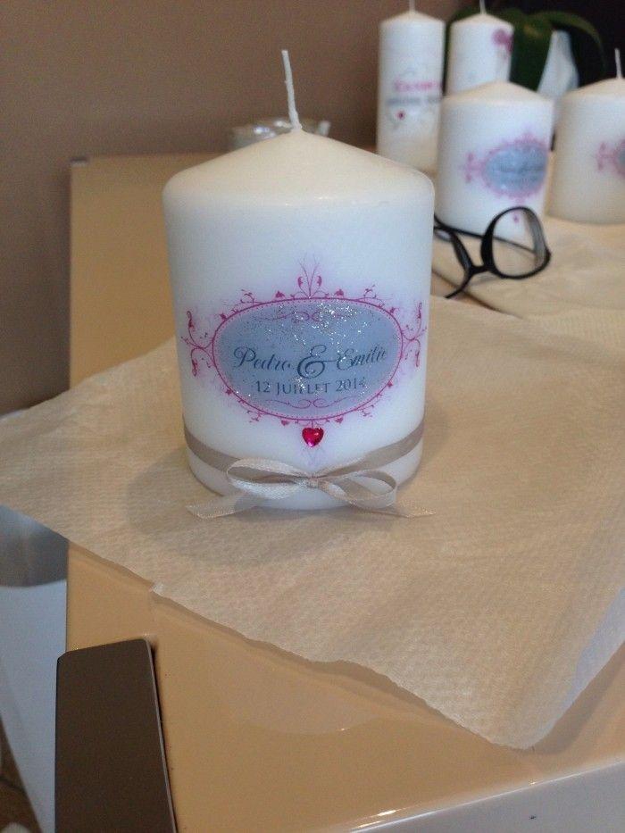 Tutoriel bougies personnalisées