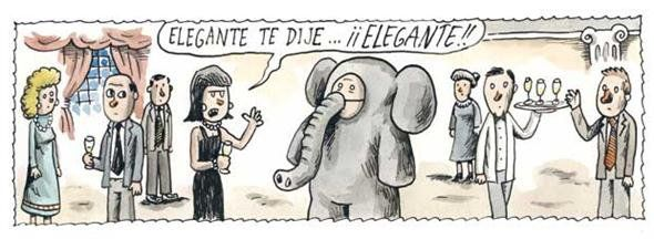 I told you ELEGANT! Liniers