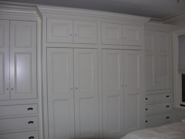 bedroom built in wall drawers | Chop Cult - wall to wall built-in wardrobe for master bedroom. solid ...