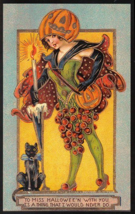 drownedintheblacklagoon:    Victorian Halloween fashion sense was a bit…dodgy.
