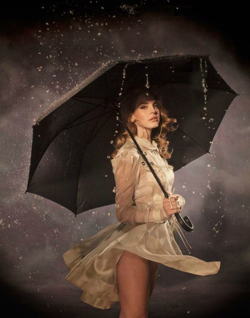 unbrellaPhotos, Lanadelrey, Complex Magazines, Lana Del Rey, Umbrellas, Beautiful, Woolen Ray, Photography, Rain