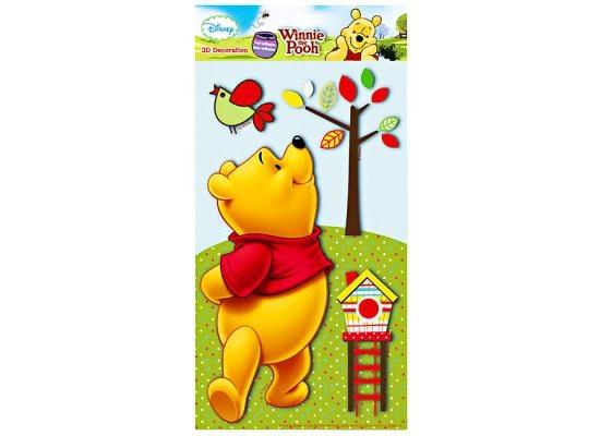 Inspirational Wandsticker in D XL Disney Winnie the Pooh Im Nu ist der wunderbare XL Wandsticker Winnie the Pooh in D an der Wand Winnie Pooh ist der Freund aller