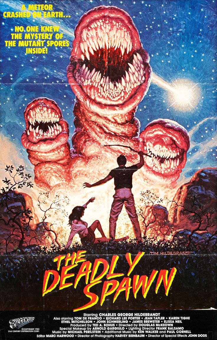 084. 28/03/2016 The Deadly Spawn (1983)