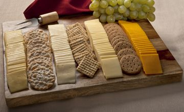 Elegant Cheese Tray | Cello Variety Pack Cheese Platter