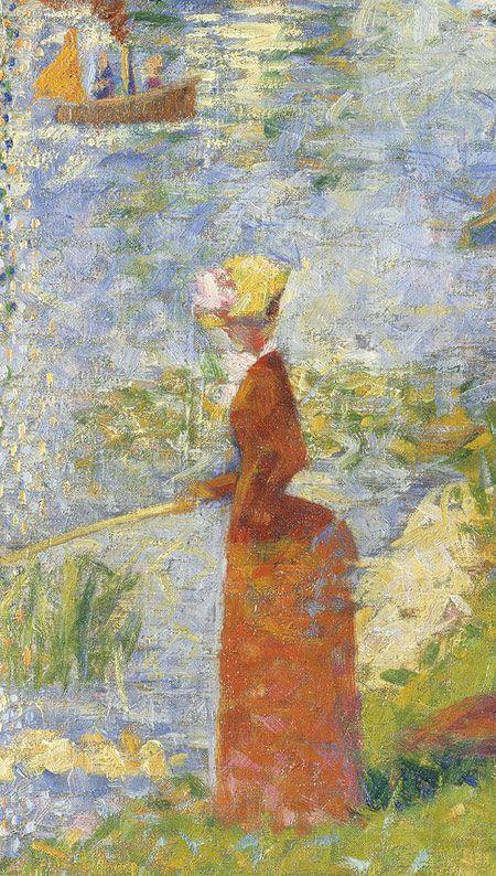 Georges Seurat: Study for A Sunday on La Grande Jatte (51.112.6) | Heilbrunn Timeline of Art History | The Metropolitan Museum of Art