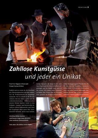 Kunstguss Döhler in der neuen Ausgabe (3/2013) der Premissima