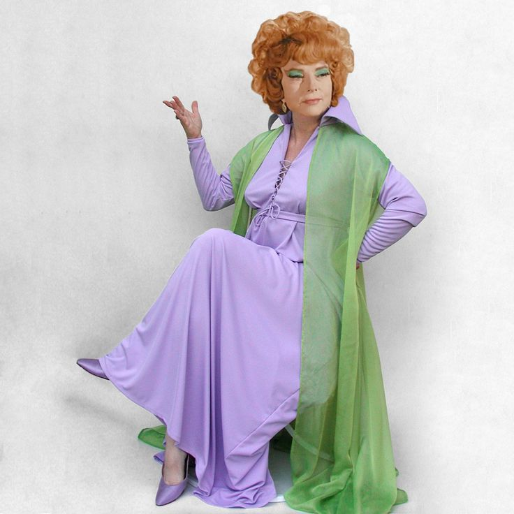 Endora costume, size XL, made to order, custom hemmed, Bewitched classic TV witch. $225.00, via Etsy.