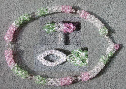 Tubes galore - exploring Diamond Weave | Jumbo beads, toggle… | Flickr