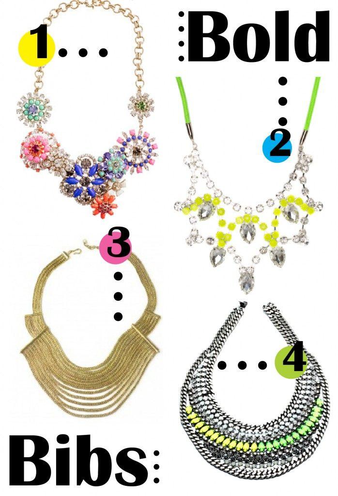 Bold Bib Necklaces