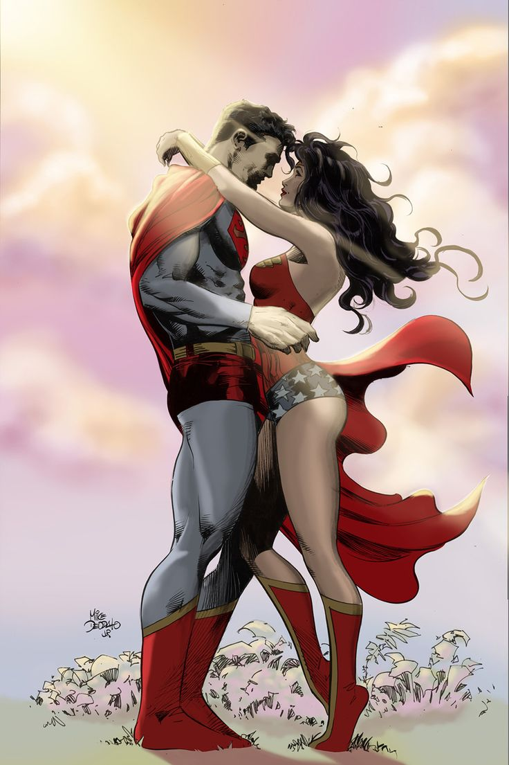 Superman and wonder woman couple-3793