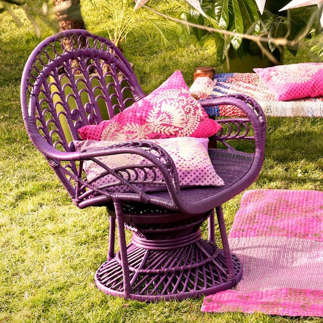 31 best rotin couleur images on Pinterest | Wicker furniture, Rattan ...