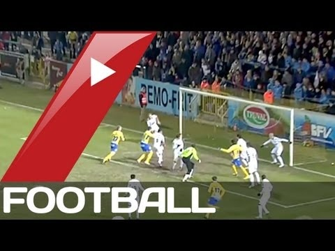 FOOTBALL -  Waasland-Beveren v Lokeren | Belgian Pro League Goals  Highlights | 24-02-2013 - http://lefootball.fr/waasland-beveren-v-lokeren-belgian-pro-league-goals-highlights-24-02-2013/
