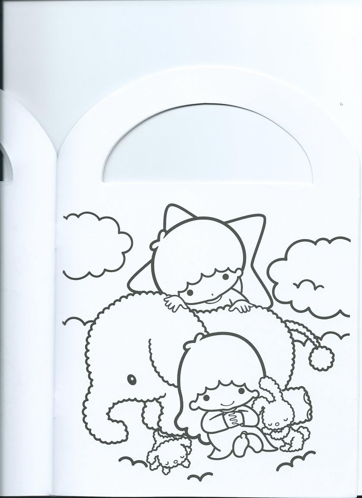 30 best images about little twin stars on pinterest jazz for Little twin stars coloring pages