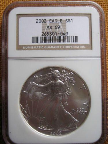 American-eagle-dollar-2002-1oz-silver-eagle-graded-MS69