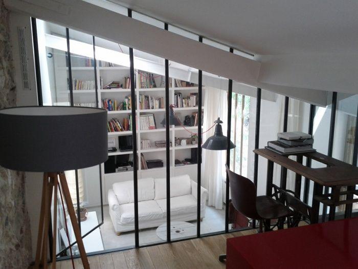 Mezzanine sous verre 2
