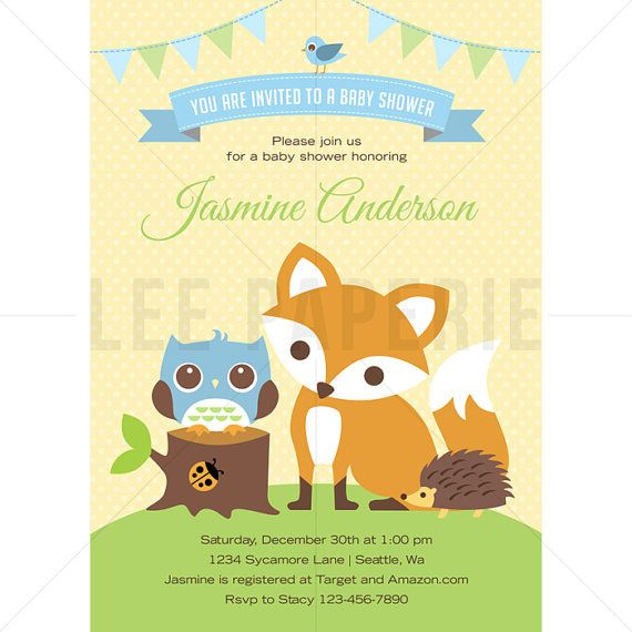 49 best lee paperie baby shower invitations images on pinterest, Baby shower invitations