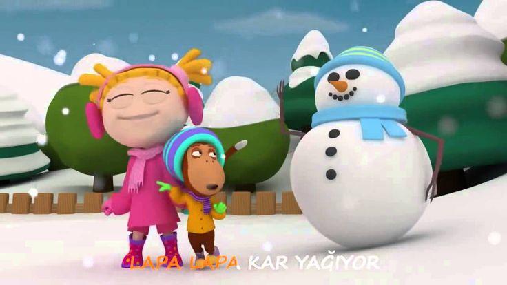 Çocuk Şarkıları Civil Çocuk Dünyası Kar Yagıyor şarkısı