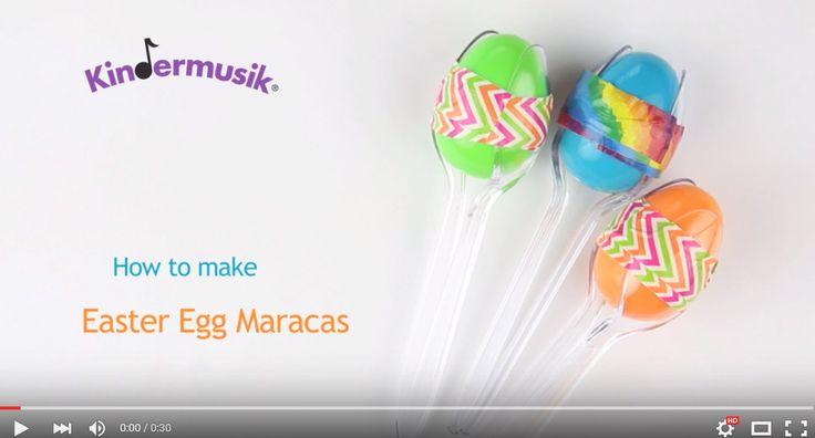 Egg Maracas Activity for Kids https://youtu.be/Eyc7heqgi8w