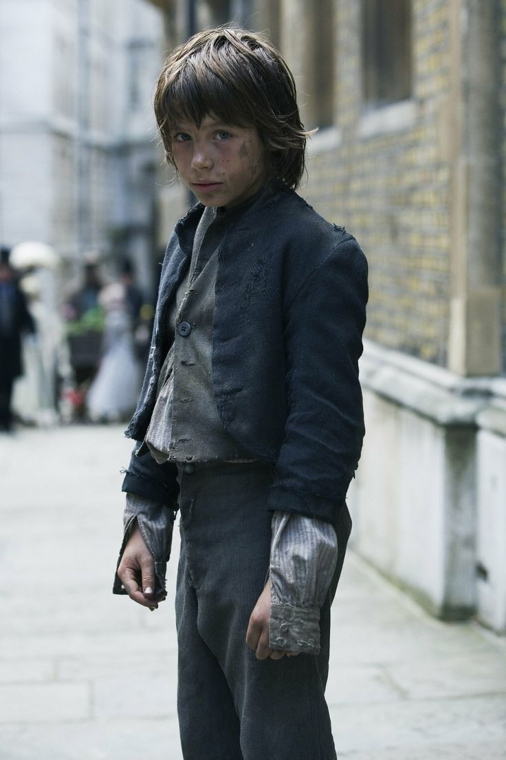 Oliver Twist. Never knowingly an icon of style.