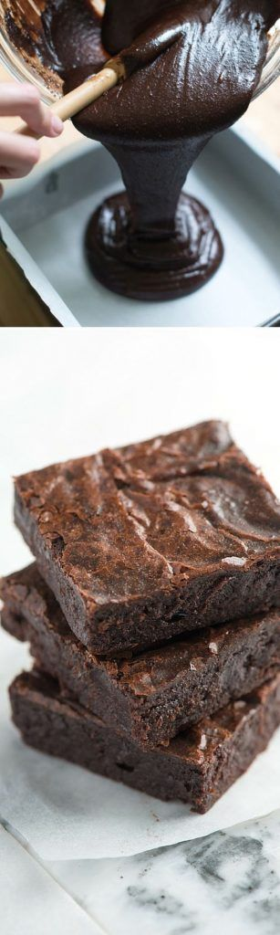 Easy, Fudgy Brownies Recipe from Scratch