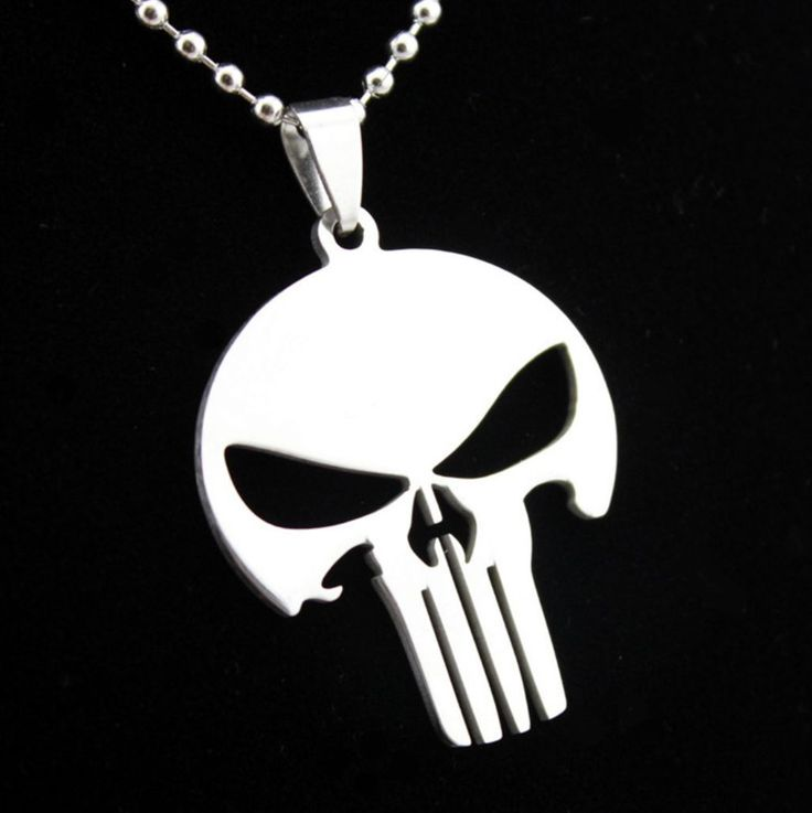 Pandantiv Punisher Metalizat http://www.pandantivefashion.ro/cumpara/pandantiv-punisher-metalizat-21