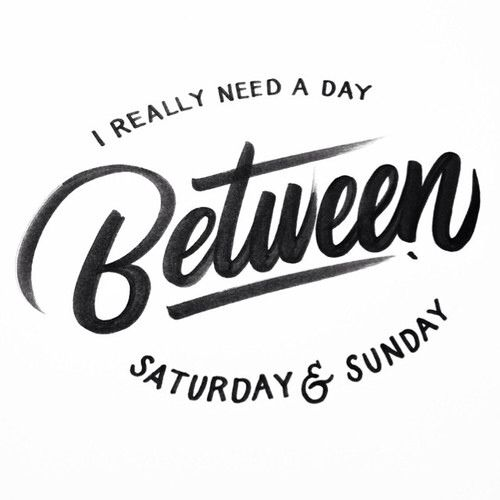 Sunday | Words | Saturday