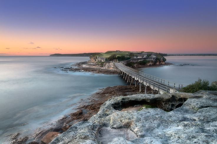 Bare Island, La Perouse NSW Australia. Early Morning colours at this interesting location. This island was used for filming on Mission Impossible 2.