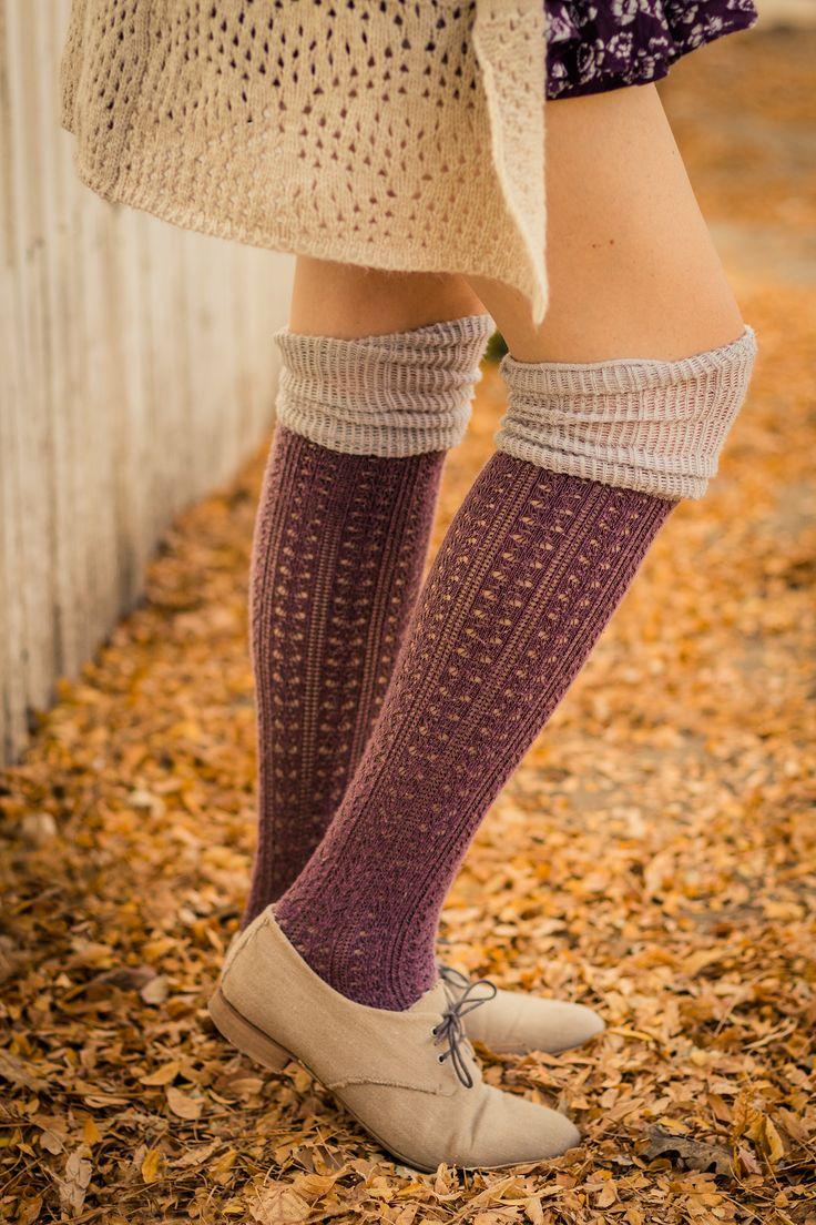 Cozy over the knee socks