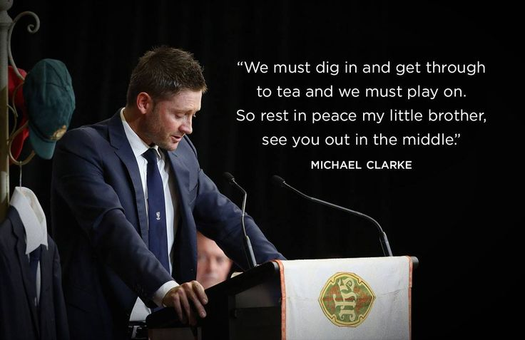 Even if you are not a Cricket fan, Michael Clarke