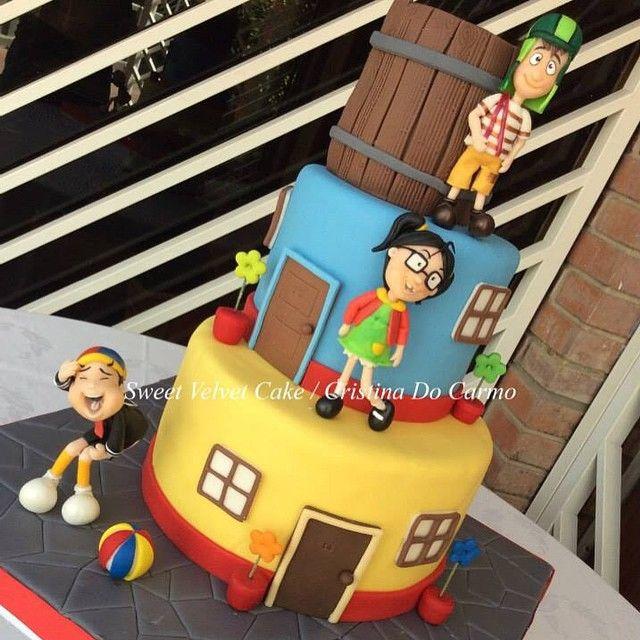 """""""El Chavo del Ocho"""" Cake by Sweet Velvet Cakes"""