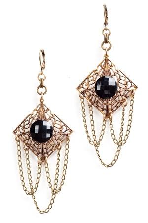 The Gatsby Earrings www.hearts.com