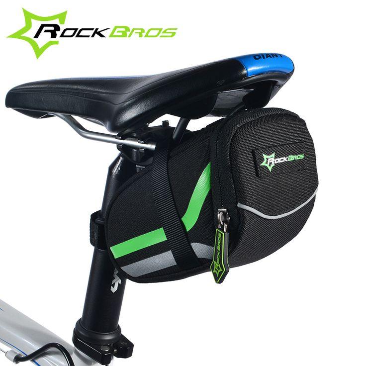 Rockbros fahrradtasche 2017 anti-scratch mtb mountain road bike bag reflektierende radfahren rear seat saddle bag fahrradzubehör