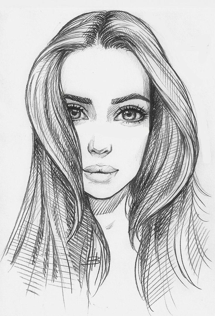 Картинки боком девушка