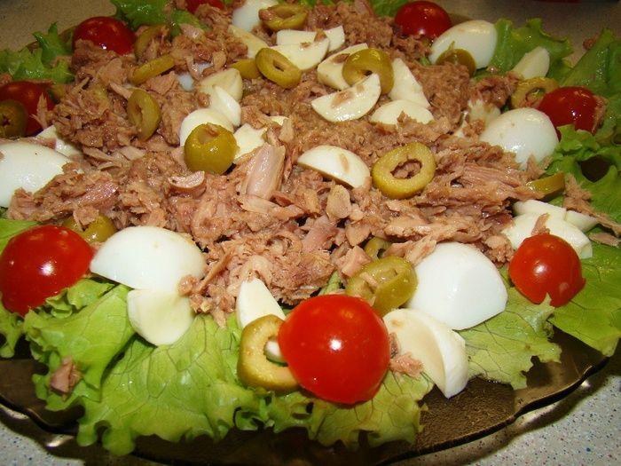 Салат из тунца