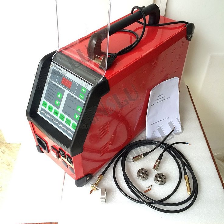 568.00$  Buy now - http://alior5.worldwells.pw/go.php?t=32384347746 - Digital Pulse Argon ArcWelding TIG Welding Machine Accessory WF-007 TIG Welding wire feeder