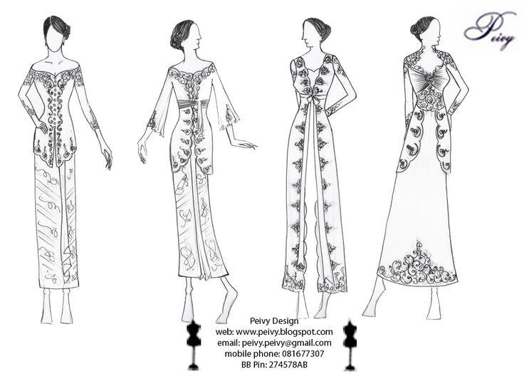 25 best Batik Amarillis's project A dress images on