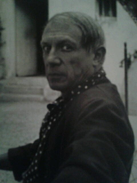 Picasso Mougins France 1937 Lee Miller Shortly After The Completion Of Guernica