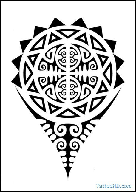 Polynesian Symbols Meanings | Polynesian Tattoo Meanings Tattoos 456x644px Football Picture #maoritattoosturtle
